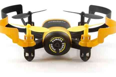 Globi - Mini RC Quadcopter Drone with 0.3MP Camera With Free Delivery - Save 62%