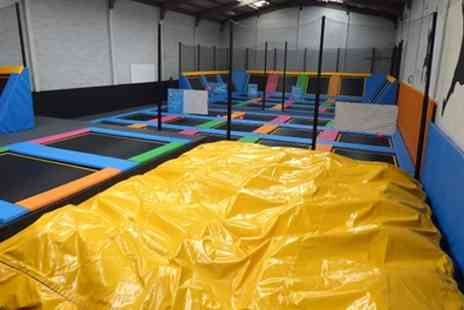 Ibounce Trampoline Park - Parent and Toddler Entry to iBounce Trampoline Park - Save 25%