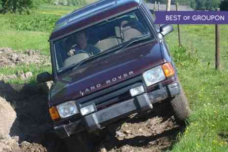 Action Adventure Activities - Off Road 4x4 Driving for a Junior or Up to Four Adults - Save 65%