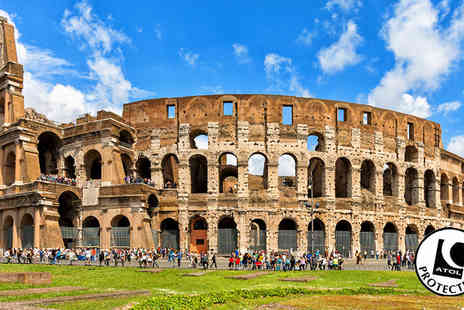 Tour Center - Two to Three Night Hotel Stay With Flights & Colosseum Tour - Save 47%
