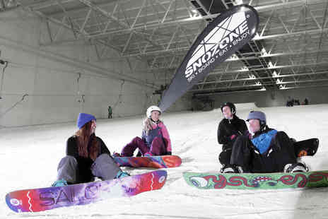 Snozone - Five week skiing or snowboarding course on real snow - Save 31%