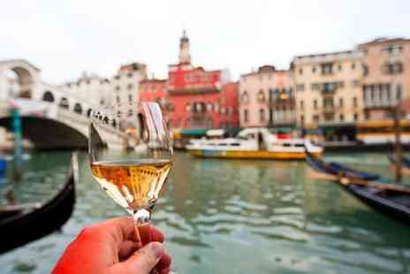 Tour Center - Two or three night 4 Star Venice break with flights and a bottle of wine - Save 49%