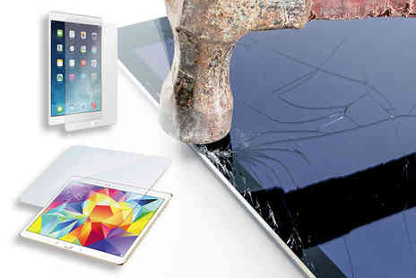 Planet of Accessories - Tempered glass screen protector choose your size - Save 80%