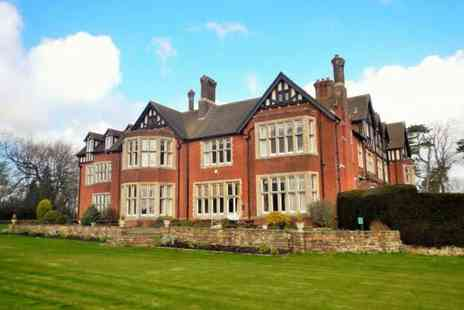 Scalford Hall Hotel - Afternoon tea for two with a glass of Prosecco - Save 51%