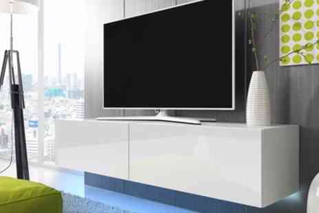 Groupon Goods Global GmbH - Lana Led TV Cabinet With Free Delivery - Save 55%