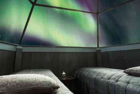 Bargain Late Holidays - Up to 4 Night Stay at Arctic Snow Hotel and Glass Igloos with Breakfast and Flights - Save 0%