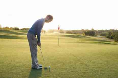 Manston Golf Centre - 18 Holes of Golf with Bacon Roll or Burger and Chips for One or Two or Four - Save 29%