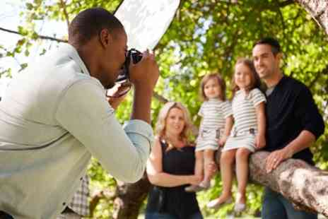 Dean McDonald Photography - One Hour Family Photoshoot with Framed Print and £50 Voucher - Save 0%