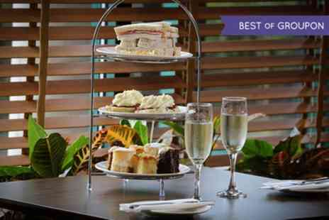 Cedar Court Hotel - Traditional or Sparkling Afternoon Tea with Health Club Pass for Two or Four - Save 0%