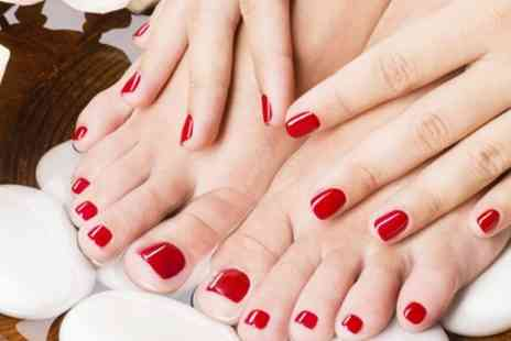 Higham Hair and Beauty - Gel Manicure, Pedicure or Both - Save 52%