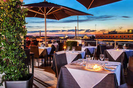 La Griffe Roma - Five Star Rooftop City Views For Two from a Luxury Design Hotel - Save 80%