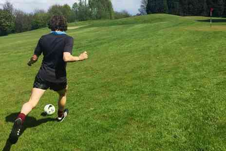 SIV - Nine holes of footgolf for two - Save 50%