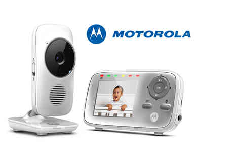 Comtech Logic - Motorola MBP483 digital wireless video baby monitor - Save 46%