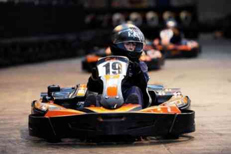 Prestige Karting Colne - 30 Minute Go Karting for Up to Four - Save 36%
