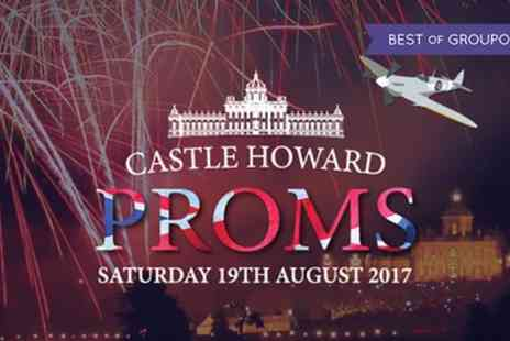Castle Howard Proms - One child or adult ticket to Castle Howard Proms on 19 August - Save 0%