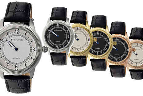 Ideal Deal - Heritor Automatic Hoty One Hand Watch available in 6 Designs - Save 91%