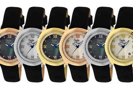 Ideal Deal - Sophie And Freda Belize Mother of Pearl Watch Choose from 6 Designs - Save 86%
