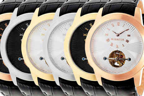 Ideal Deal - Heritor Automatic Windsor Watch Available in 6 Designs - Save 90%