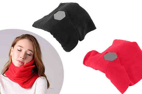 Black Sheep - Neck Support Travel Pillow Available in 2 Colours - Save 30%