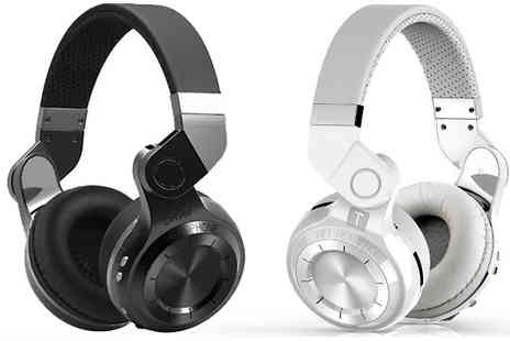 Black Sheep - 4.1 Bluetooth Wireless Headphones Available in Black or White - Save 54%