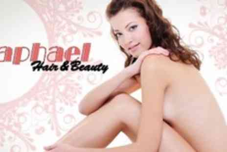 Raphael Hair and Beauty - Three IPL Hair Removal Sessions on One Large Area or Six Sessions on Three Areas - Save 78%