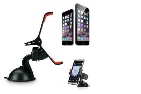 Planet of Accessories - Universal multipurpose in car phone holder - Save 75%
