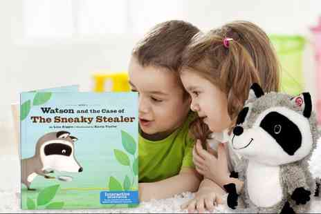 Ckent - Interactive racoon buddy & storybook - Save 53%