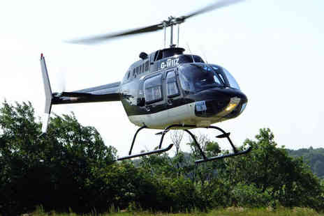 Whizzard Helicopters - Eight mile helicopter buzz flight with Whizzard Helicopters - Save 48%
