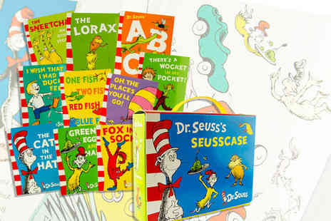 Price Cut Books - Dr. Seuss 10 book collection - Save 72%