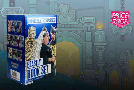 Price Cut Books - Special foil edition of Horrible Histories Beastly Books collection - Save 83%
