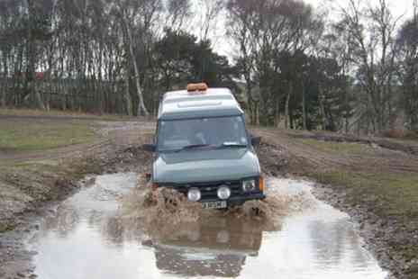 Nottingham Off Road Events - 4x4 Off Road Driving Experience for Up to Four - Save 25%