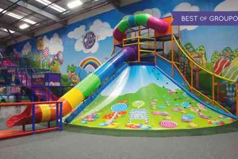 Lollipop Land - Soft Play Entry with Lunchbox and Drink For Two, Three or Four Children - Save 0%