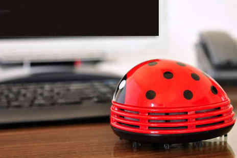 Richardson Group - Mini Ladybug Table Vacuum Cleaner - Save 52%