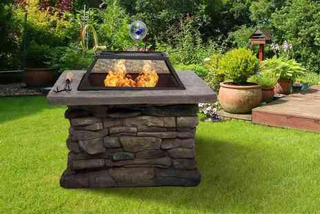 FDS Corporation - Eight piece barbecue fire pit and grill set - Save 52%