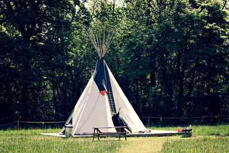 Camp Katur - Two night tepee stay for up to four - Save 53%