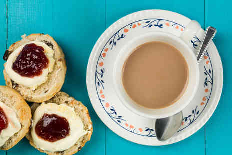 The Chocolate Box - Cream tea for 2 - Save 29%