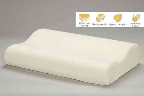 Home Furnishings Company - Memory foam pillow - Save 77%