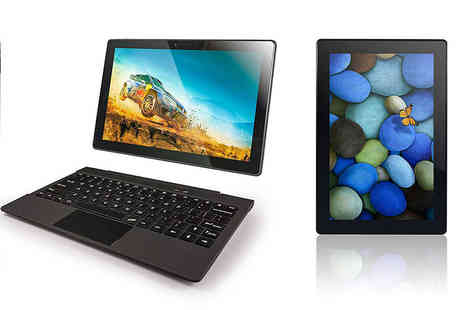 Fusion 5 Tablets - 10.1 inch quad core Fusion5 2 in 1 laptop and tablet - Save 66%