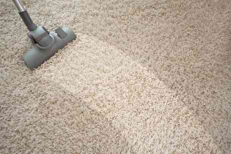 Nationwide UK Cleaning - Carpet cleaning service for two rooms - Save 55%