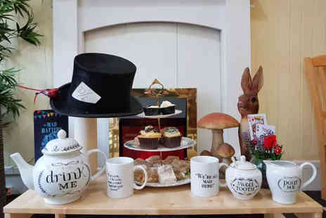 Mad Hatters Cafe - Afternoon tea for two or four - Save 0%