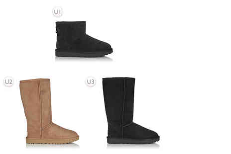 Deals Direct - Pair of mini UGG boots or pair of tall UGG boots - Save 0%