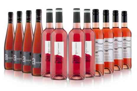 San Jamon - 12 Bottles of Spanish Rose Wine With Free Delivery - Save 48%