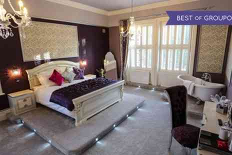 Derby Manor Hotel & Restaurant - One Night Stay for Two with Prosecco and Option for Dinner - Save 0%