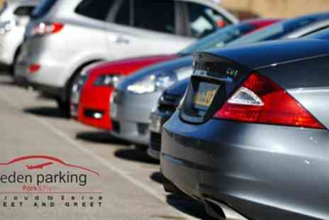 Eden Parking - Meet and Greet Airport Parking Service for Up to Fourteen Days - Save 0%