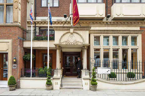 The Capital Hotel - Five Star Knightsbridge Boutique Stay For Two with Michelin Starred Dining - Save 64%