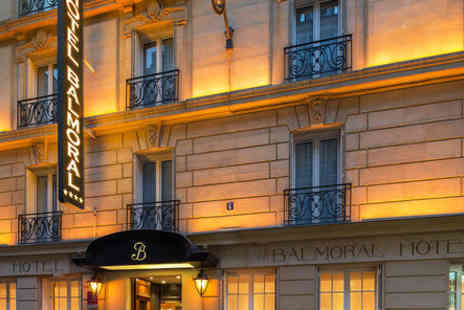 Hotel Balmoral - Four Star 19th Century Boutique Stay For Two near Champs Elysees - Save 61%