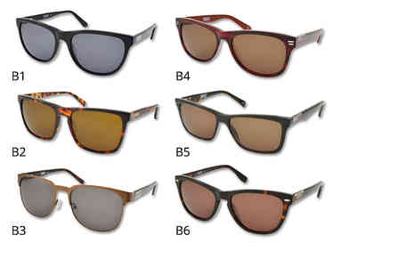 Brand Logic - Pair of Barbour sunglasses choose from 12 styles - Save 64%
