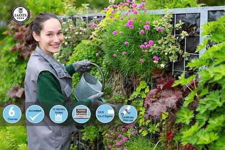 Ecourses4you - An online accredited lawn and garden care business course bundle - Save 90%