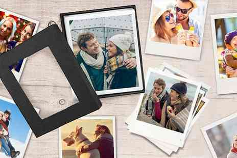 Photo Gifts - A retro or classic photo box with 25 prints - Save 49%
