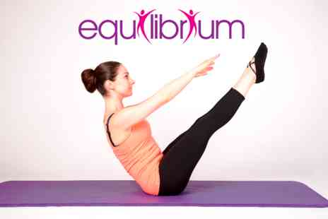 Clinic Equilibrium - Pilates 45 minute posture assessment Plus 60 minute mat class - Save 29%